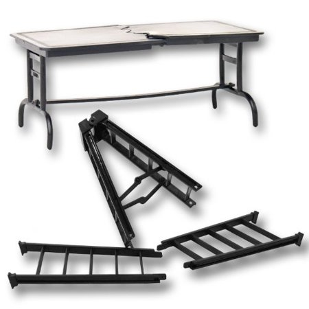 1 Large Breakaway Black Ladder & 1 Black Breakaway Table for WWE Wrestling Action Figures](Sonic Characters Tails)