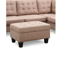 Chamption Sectional Ottoman, Beige