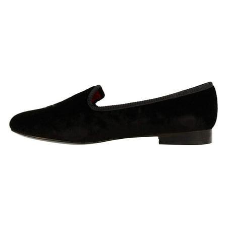 Lauren By Ralph Lauren Womens Coleena Velvet Closed Toe, Black Velvet, Size 8.5 (Shoes Girls Ralph Lauren)