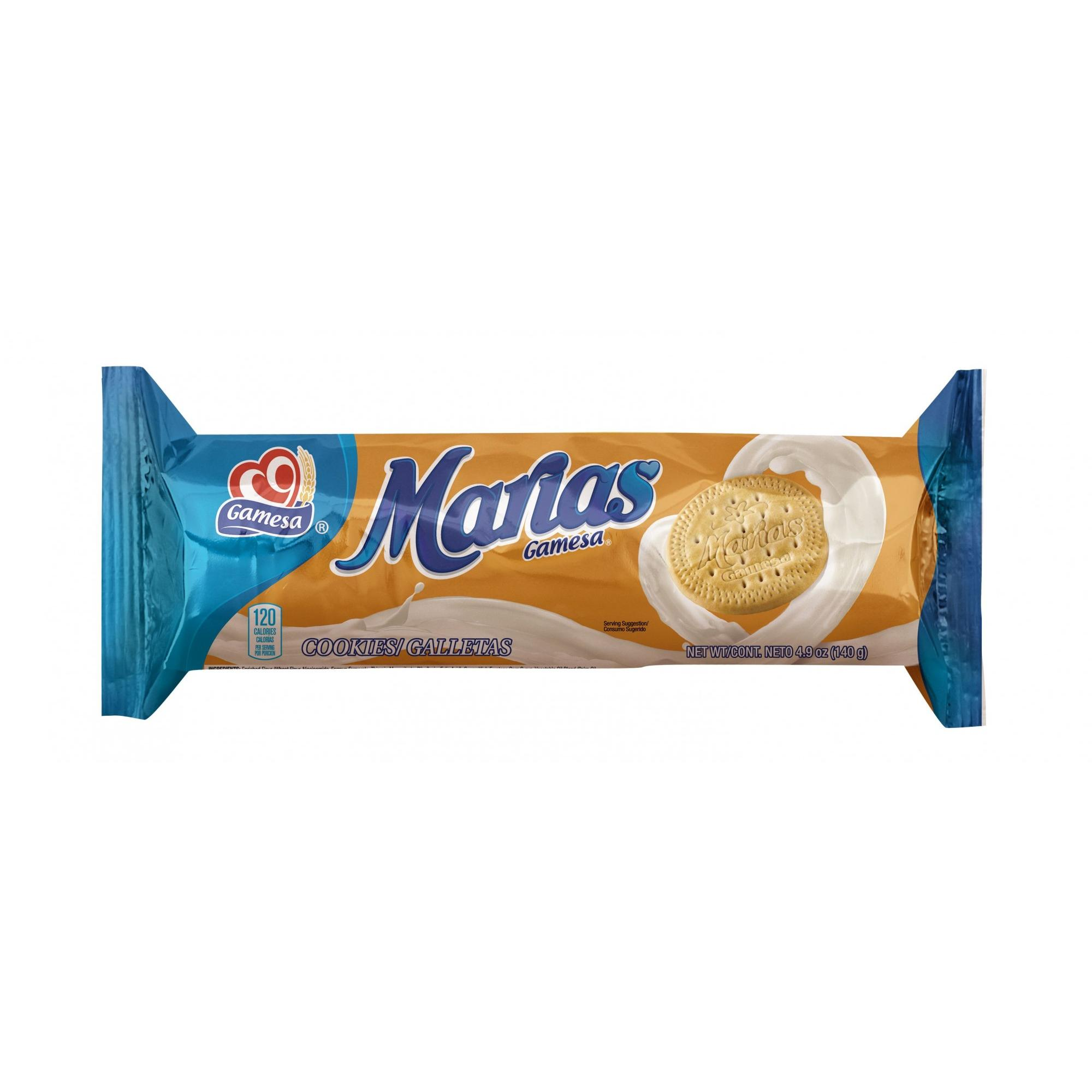 Gamesa Marias Cookies, 4.93 oz Pack