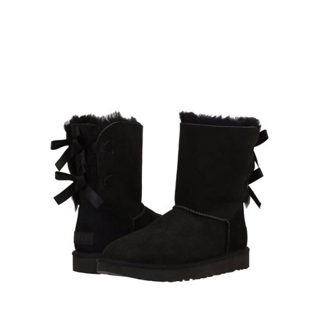 6de2217d59f ugg women's bailey bow ii winter boot, black, 5 b us