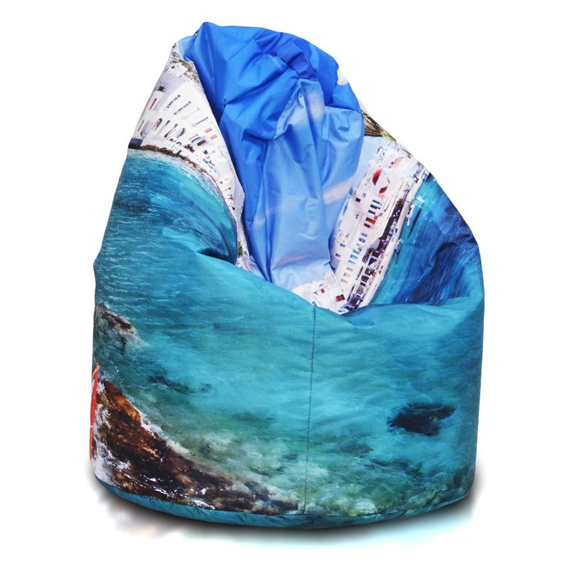 Turbo Beanbags Sack Style Premium Large Bean Bag Chair - Cruise Ship