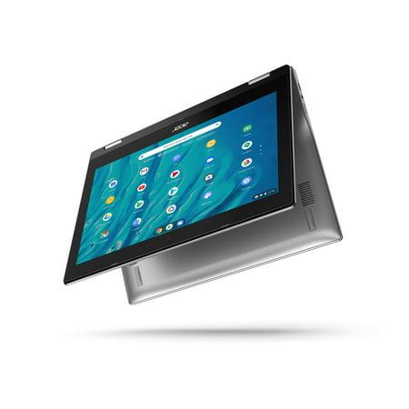 Acer Spin 311 11.6u0022 Touchscreen MediaTek MT8183C 4GB/32GB Chromebook - Silver - CP311-3H-K3WL