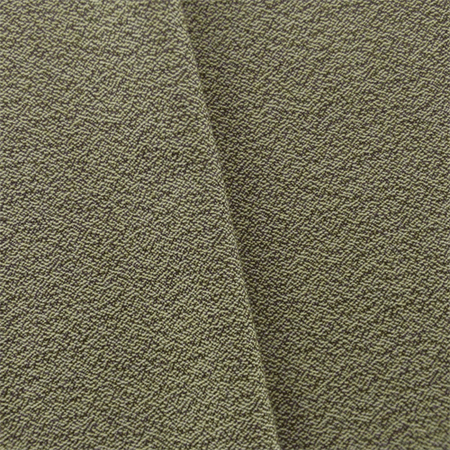 Soil Brown/Ivory JR Scott Wool Crepe Home Decorating Fabric, Fabric By the - Crepe Wool