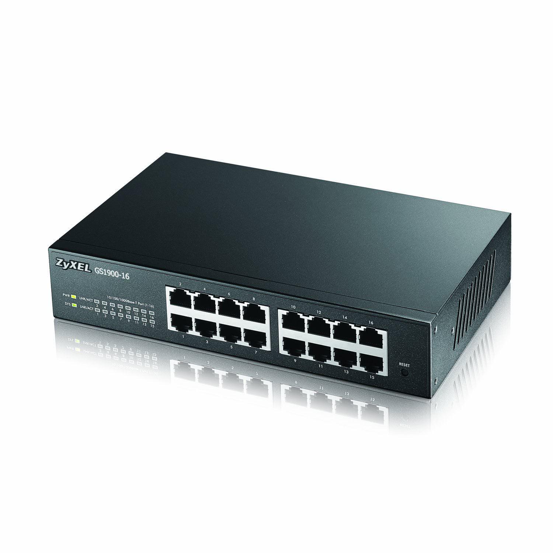 Zyxel 16-Port Gigabit Ethernet Smart Managed Switch
