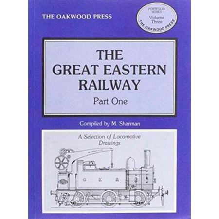 Great Eastern Railway: Locomotive Drawings Pt. 1 (Portfolio) (Paperback)