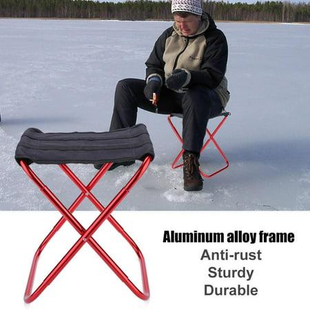 Portable Folding Stool Aluminum Alloy Fishing Chair