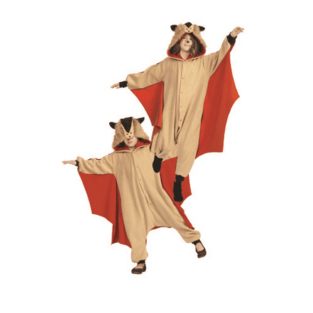 Skippy The Flying Squirrel Child Funsie Costume (Squirrel Costumes)