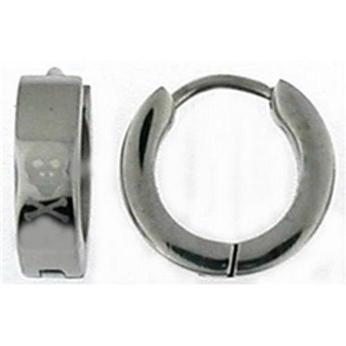 Doma Jewellery DJS00907 Stainless Steel huggy Earring