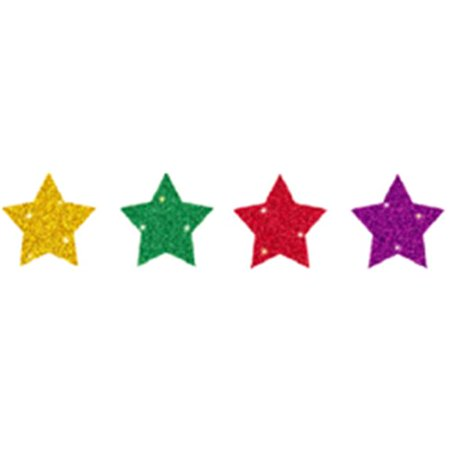 DAZZLE CHART SEALS STARS MULTICOLOR 440 PACK ACID AND LIGNIN FREE (Cancer Color Chart)