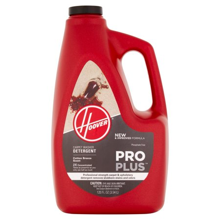 Hoover Pro Plus Cotton Breeze Scent Carpet Washer Detergent, 120 fl oz