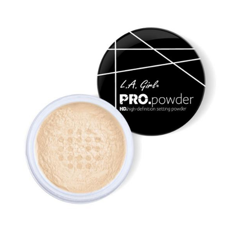 (3 Pack) L.A. GIRL HD PRO Setting Powder - Banana Yellow