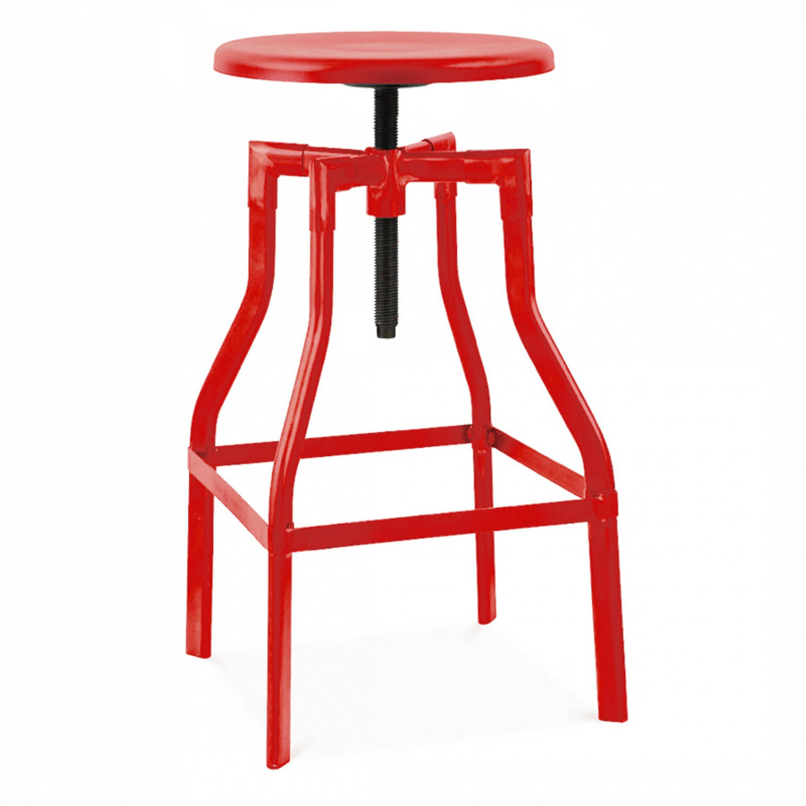 Design Lab MN Machinist Adjustable Barstool