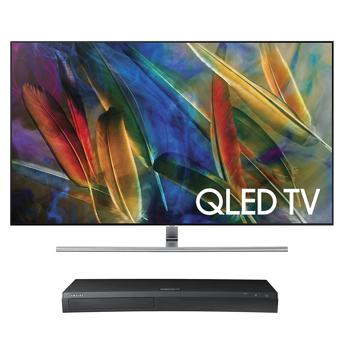 "Samsung QN65Q7F 65"" 4K UHD HDR QLED Smart TV with UBD ..."