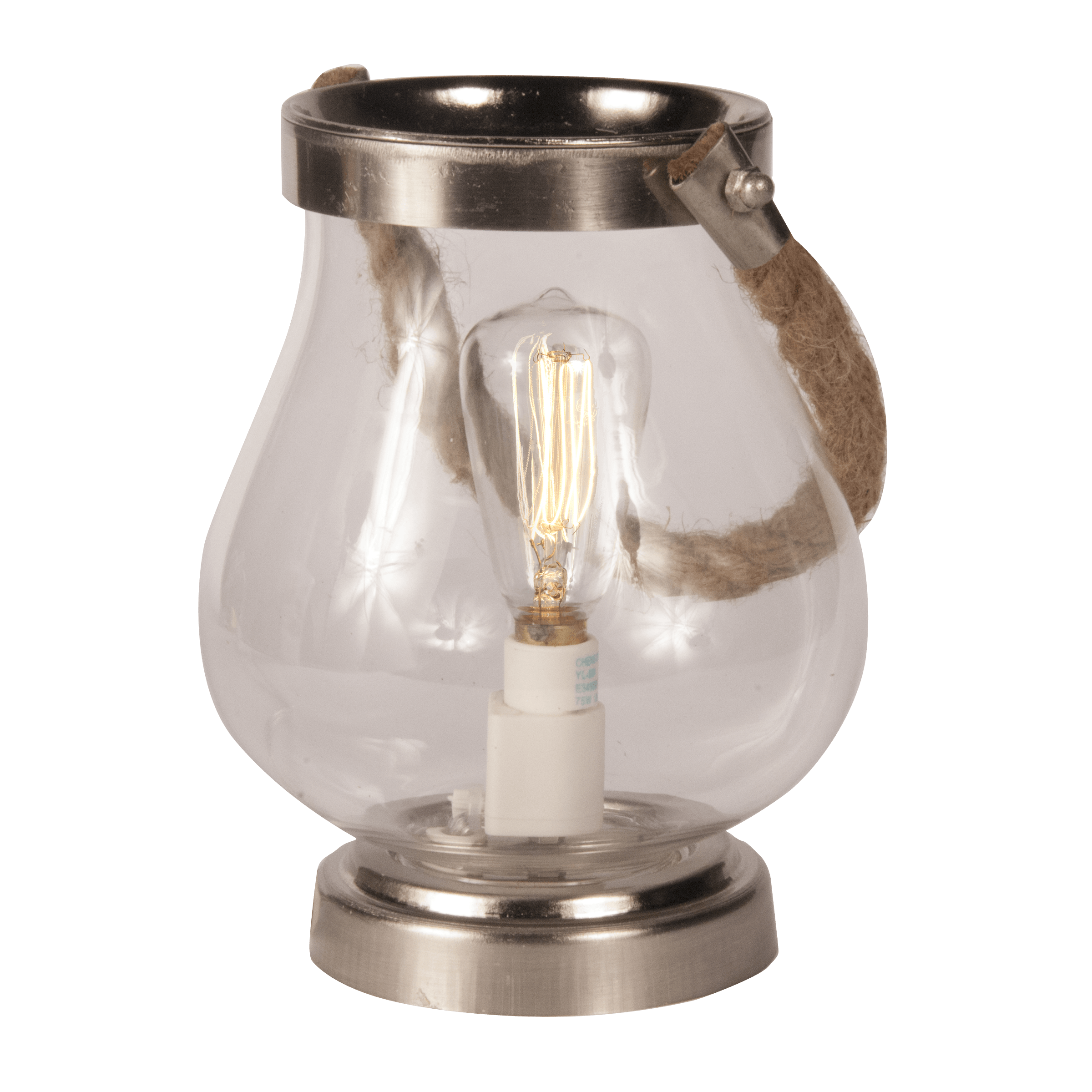ScentSationals Edison Hurricane Lantern Full-Size Scented Wax Warmer
