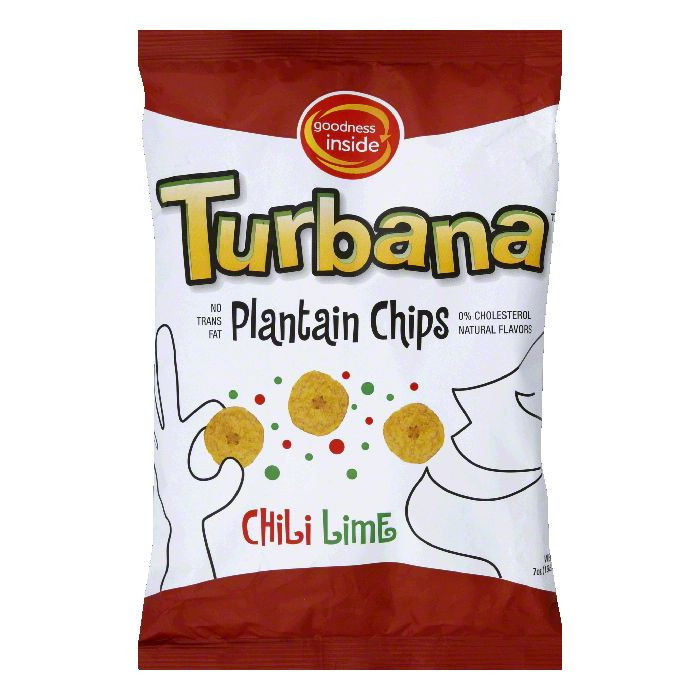 Goodness Inside Plantain Chips, Chili Lime