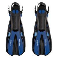 Head Volo One Blue Swimming Snorkeling Diving Scuba Fins w/ Mesh Bag Set, M/L