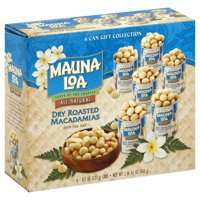 Mauna Loa All Natural Macadamia Dry Roasted Nuts, 4.5 Oz., 6 Count
