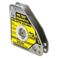 MAG-MATE WS301AX3 Magnetic Welding Square,3-3/4in.L,60 lb.