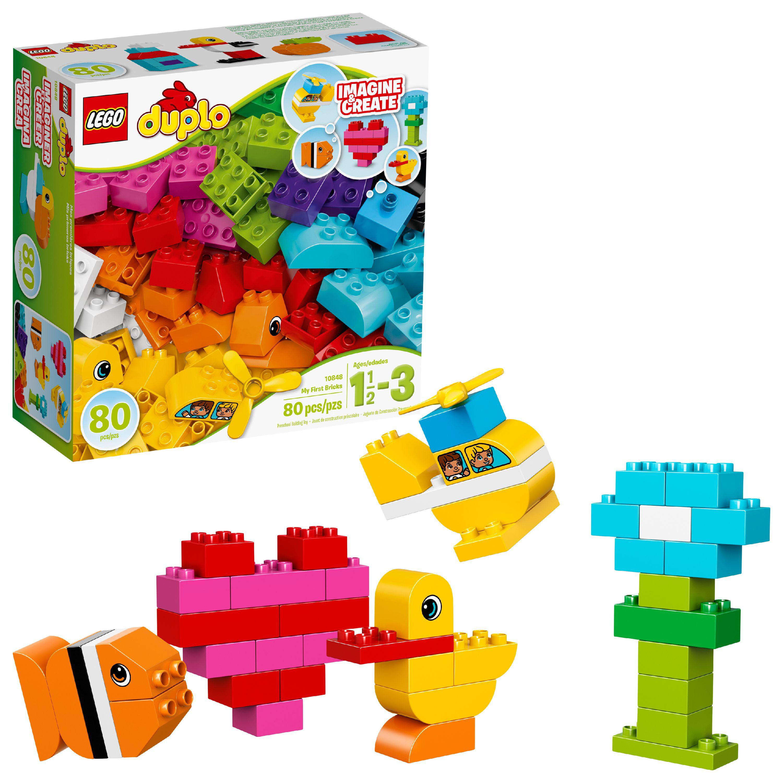 LEGO DUPLO My First Bricks 10848 Building Set (80 Pieces)