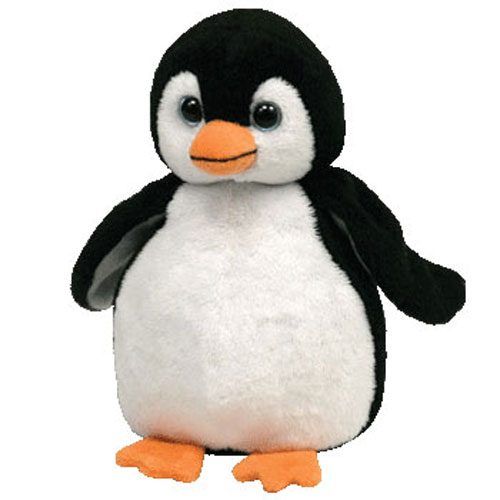 TY Beanie Baby - CHILLS the Penguin (6 inch)
