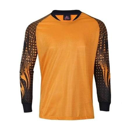 1 Stop Soccer Adult Goalkeeper Soccer Jersey Light Padded elbows