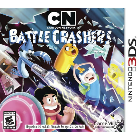 Cartoon Network Brawler, Game Mill Entertainment, Nintendo 3DS, 834656000387