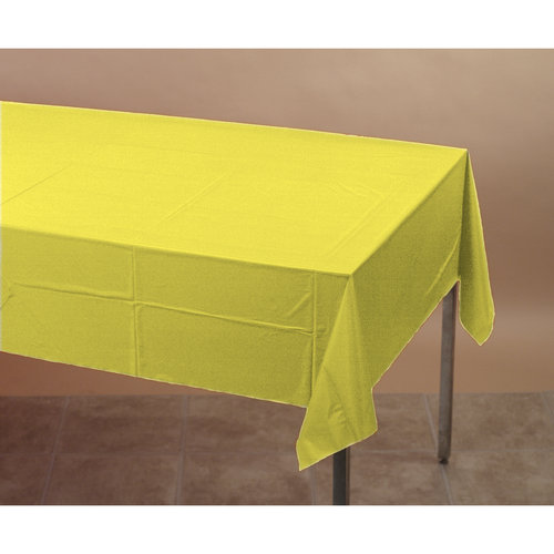 Creative Converting 710228 54in X 108in Mimosa Tablecover