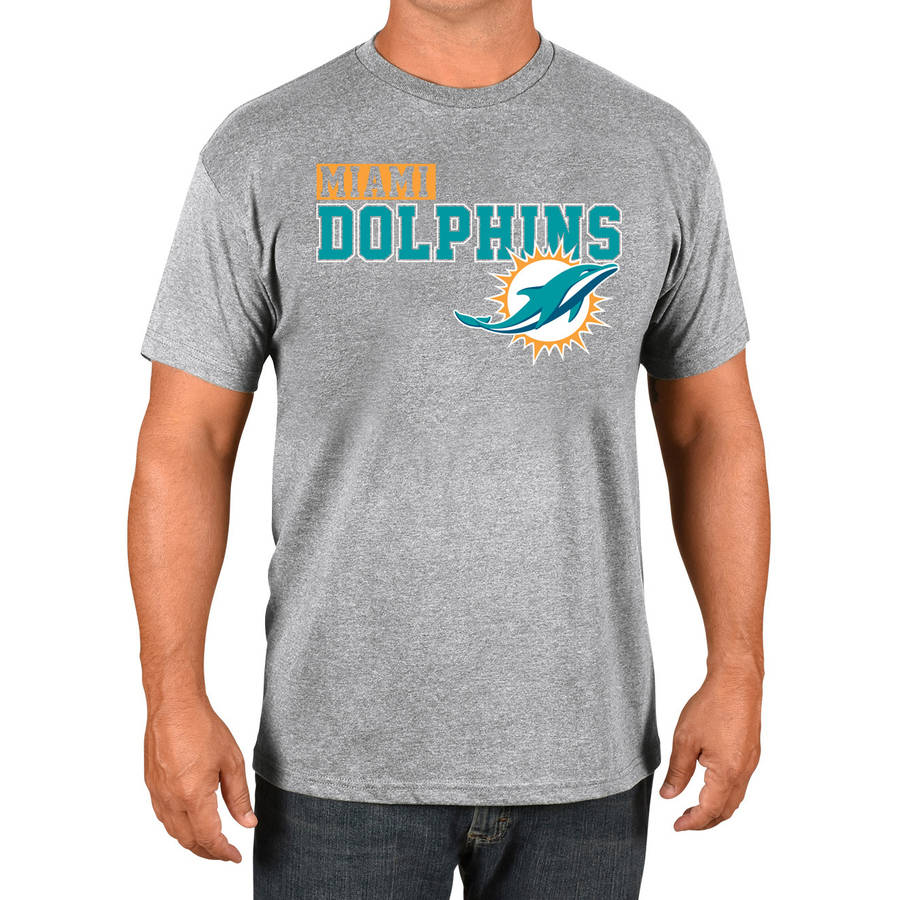 NFL Miami Dolphins Big Men's Basic Tee