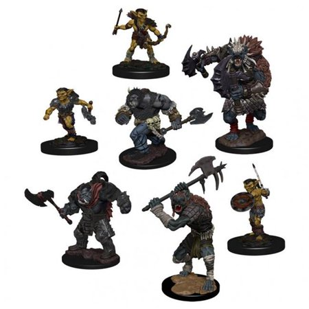 Dungeons & Dragons Fantasy Miniatures: Icons of the Realms Pack: Village (D&d Icons Of The Realms Monster Menagerie 2)