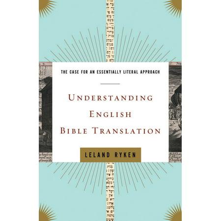 Understanding English Bible Translation - eBook