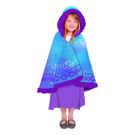 Disney's Frozen 'Winter Waltz' Girls Snuggle Wrap with Hood