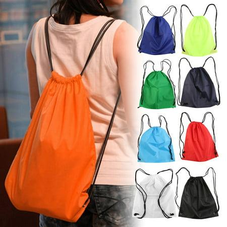 df01f552bbbc dodomore - Premium School Drawstring Duffle Bag Sport Gym Swim Dance Shoe  Backpack - Walmart.com