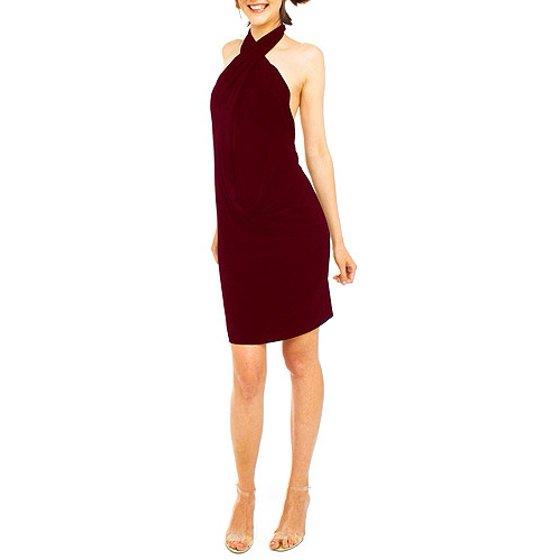 a223ffb0682 Norma Kamali - Norma Kamali - Women s All-in-One Jersey Dress - Walmart.com
