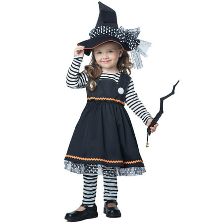 Crafty Little Witch Toddler Costume - Toddler Witch Costume