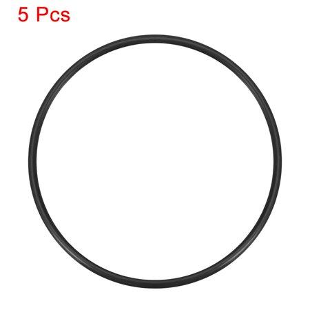 O-Rings Nitrile Rubber 63.2mm x 68mm x 2.4mm Seal Rings Sealing Gasket 5pcs - image 1 de 3