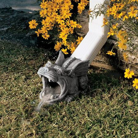 Design Toscano Roland the Gargoyle Gutter Guardian Downspout Statue - Gargoyle Feet