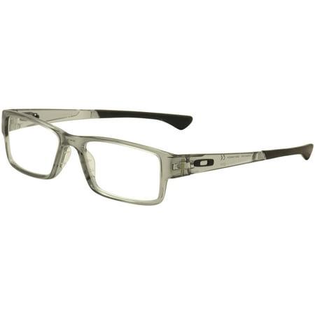 3c6a34f9a8035 Oakley Eyeglasses Airdrop OX8046 OX 8046 0355 Grey Crystal Optical Frame  55mm - Walmart.com