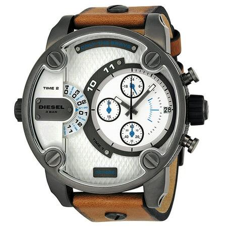 a1400872c Diesel - Diesel SBA Dual Time Chronograph Gunmetal IP Stainless Steel Mens  Watch DZ7269 - Walmart.com