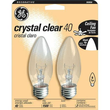 GE B Type Ceiling Fan Light Bulb - Walmart.com:... GE B Type Ceiling Fan Light Bulb,Lighting