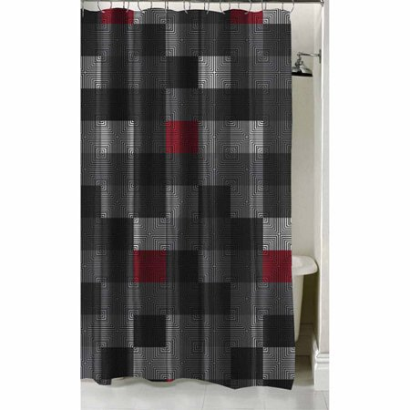 Latitude Geo Blocks Shower Curtain 70 X 72 As Low 1034