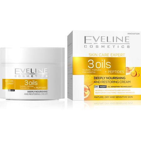 Skin Care Expert 3 Oils Deeply Nourishing and Restoring Day and Night