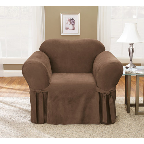Sure Fit 1pc Soft Suede Chair Slipcover