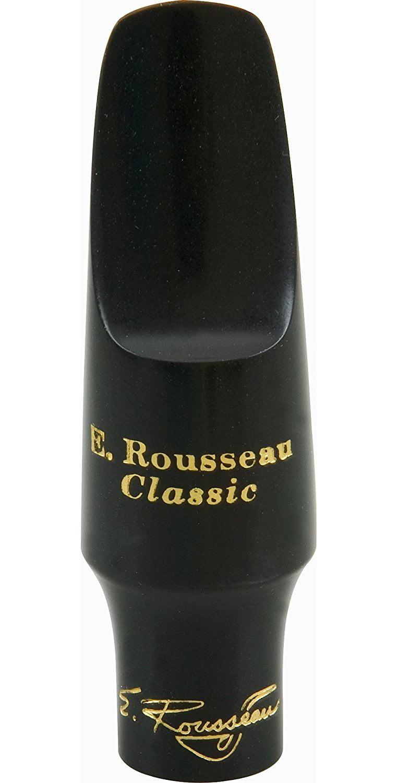 E. Rousseau New Classic Alto Saxophone Mouthpiece, 3N (1.50mm) Medium Close by Rousseau