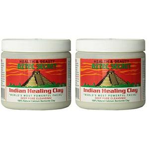 Aztec Secret dtzKvi Indian Healing Clay Deep Pore Cleansing, 1 Pound (2 Pack)