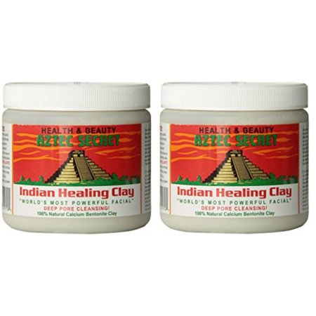 Aztec Secret dtzKvi Indian Healing Clay Deep Pore Cleansing, 1 Pound (2 Pack)