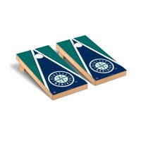 Seattle Mariners 2' x 4' Triangle Cornhole Board Tailgate Toss Set