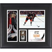 """Patrick Eaves Anaheim Ducks Framed 15"""" x 17"""" Player Collage with a Piece of Game-Used Puck - Fanatics Authentic Certified"""