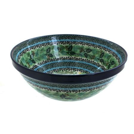 Polish Pottery Teresa Medium Serving Bowl ()