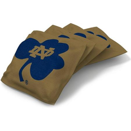 Notre Dame Fighting Irish Tickets - Wild Sports Collegiate Notre Dame Fighting Irish XL Bean Bag 4pk